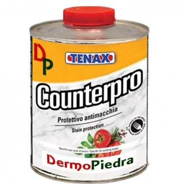 Counterpro protector antimanchas base disolvente, para encimeras y superficies pulidas.