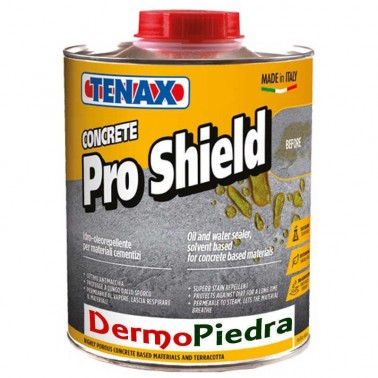 CONCRETE PRO SHIELD Hidro-óleo repelente base disolvente.