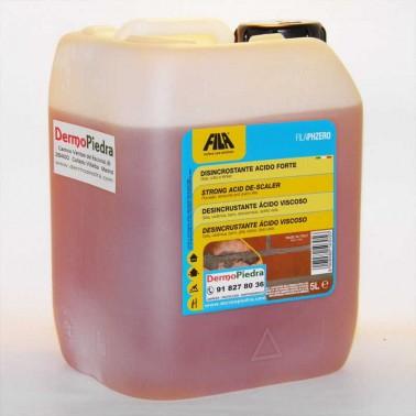Fila PZ ZERO desincrustante ácido viscoso.