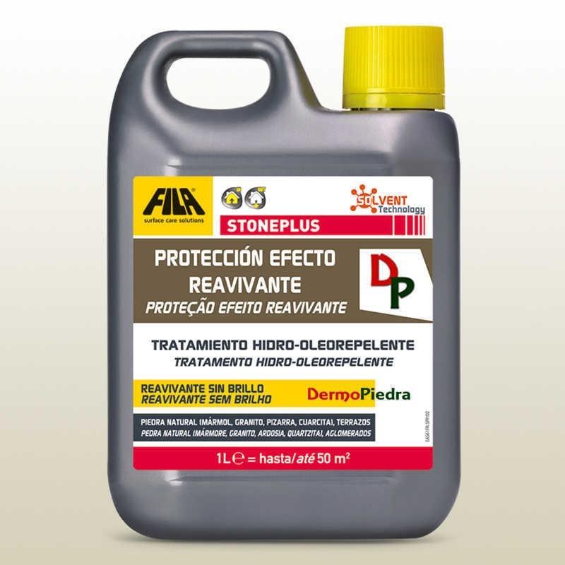Fila StonePlus 1 litro, protector antimanchas con efecto reavivante.