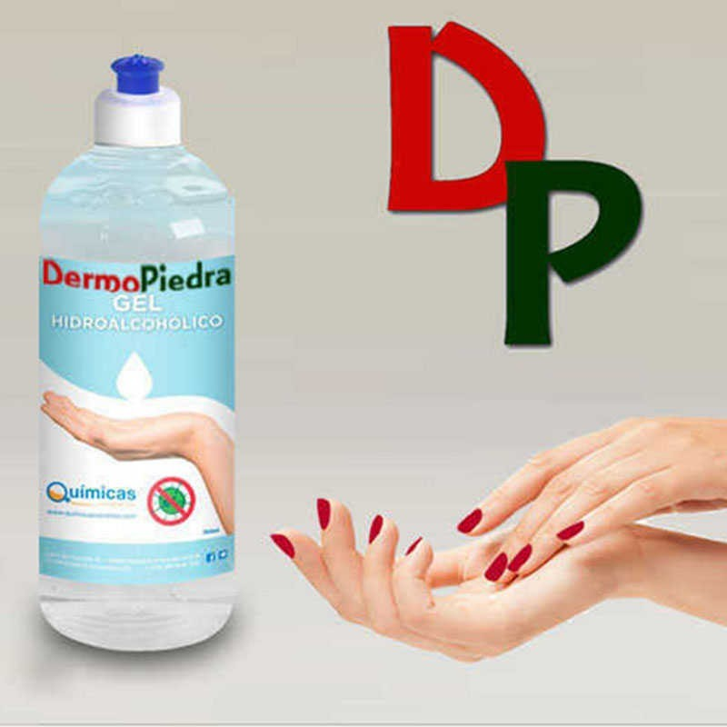 Gel hidroalcohólico higienizante que cuida sus manos.