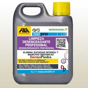 PS-87 1 litro Detergente desengrasante, quitamanchas, decapante FILAPS87 | FILA Solutions