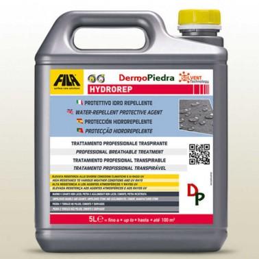 Hydrorep garrafa de 5 litros, protector hidrófugo anti-envejecimiento para piedra y cemento. base disolvente.