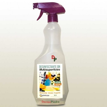 DESINFECTANTE QN desinfección de todo tipo de superficies. (Spray 500 ml).