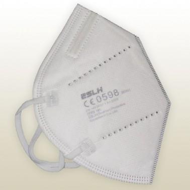 Mascarilla autofiltrante FFP2 desechable homologada con marcado CE0598 EN 149:2001 + A1:2009