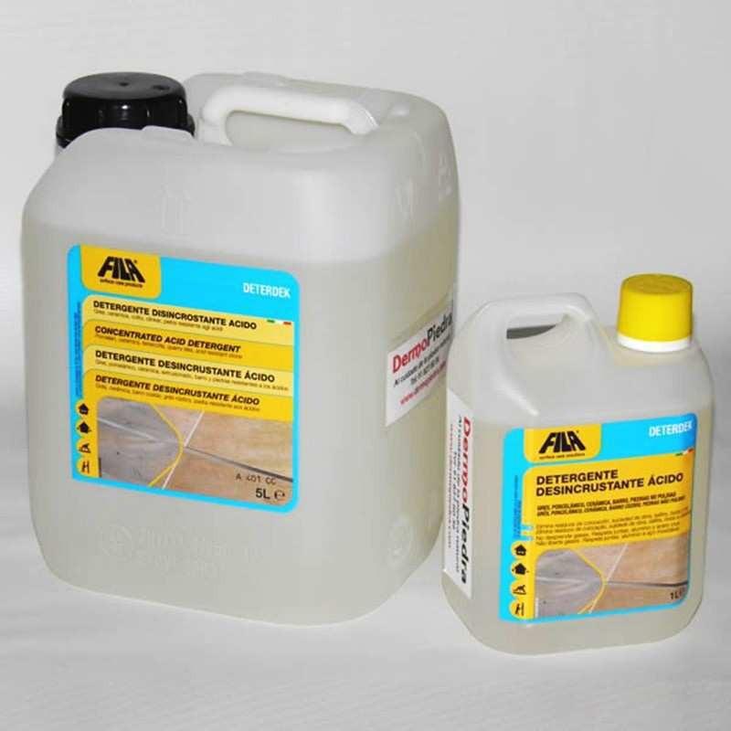Formatos de Deterdek desincrustante ácido.