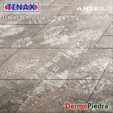 Tenax Cement Remover, Limpiador desincrustante ácido ANTES de aplicar.