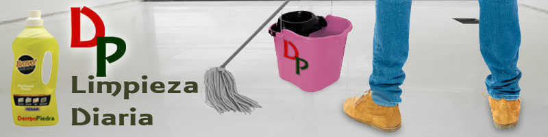 Productos para limpieza diaria de todo tipo de pavimentos.